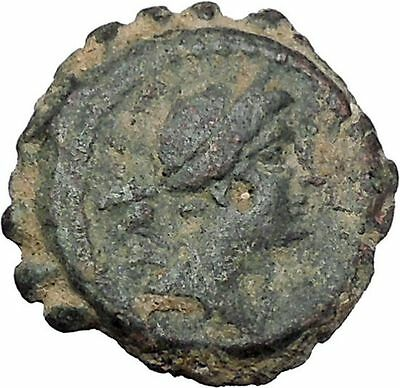 DEMETRIOS I SOTER 162BC Seleukid Antioch Artemis Ancient Greek Coin i47142