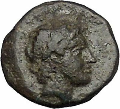 Pergamon in Asia Minor Regal Coinage 282BC Ancient Greek Coin Tripod i47300
