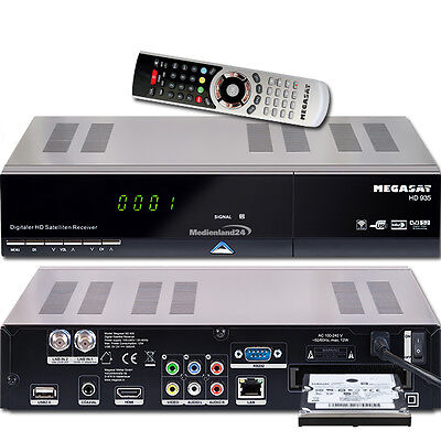 Megasat HD 935 Twin HDTV Sat Receiver Live Stream 1000GB Festplatte intern 1TB