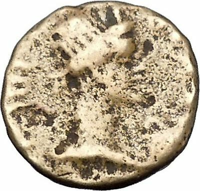 PERGAMON in MYSIA under Romans 1stCenAD Senate & Roma Ancient Coin i47308