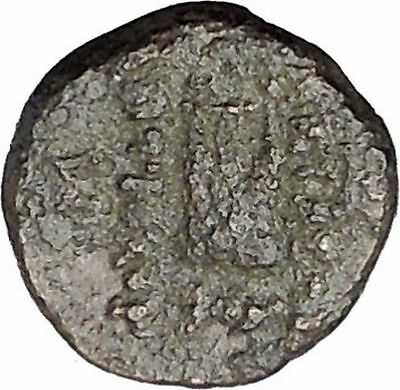 ANTIOCHOS II Theos 261BC Apollo Kithara Lyre Authentic Ancient Greek Coin i47150