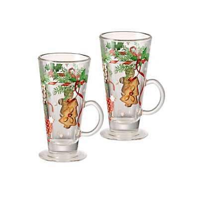 Hutschenreuther Christmas Sweets Glühwein Mug, Set Mulled Wine Glasses, Set of 2