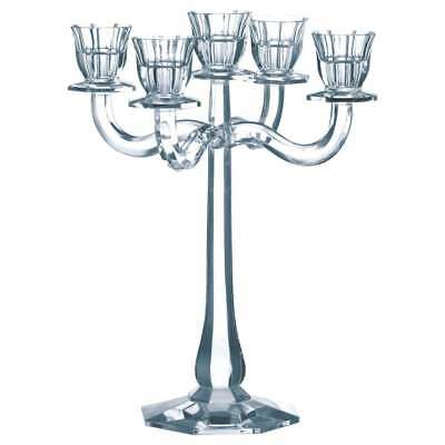 Nachtmann Candlestick 5-arm Ravello, Glass, Lead Crystal, 30 cm, Made in Germany