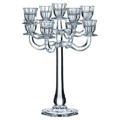 Nachtmann Candlestick 9-arm Ravello, Glass, Lead Crystal, 41 cm, Made in Germany