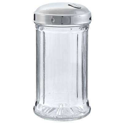 Stoha Sugarbox Bistro, Glass, Stainless Steel Lid, 370ml, Sugar Shaker, 55275