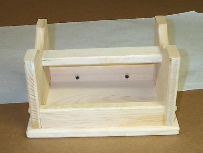 Child Mini Step Stool Unfinished Pine Wood Functional Furniture Hand Made In Usa