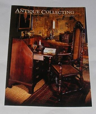 Antique Collecting September 1994 - Admiralty Charts/staffordshire Figures