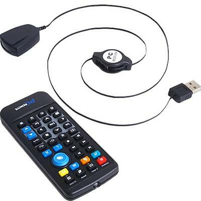 USB PC Laptop Infrared Remote Control Controller f. MCE