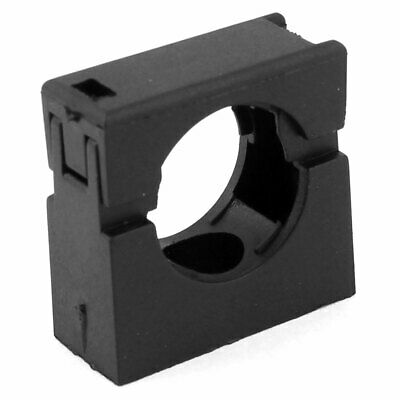 Black Fixed Mount Pipe Clip Bracket Clamp for AD21.2 Corrugated Conduit