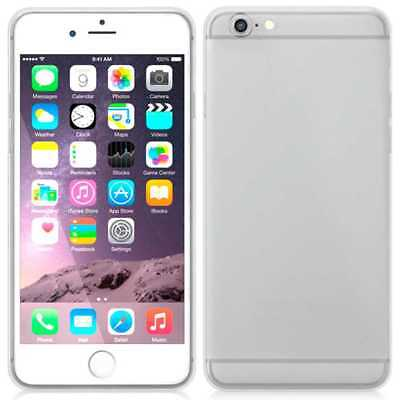 Funda Silicona de Gel TPU Ultra Thin Slim Case para Apple iPhone 6 Transparente