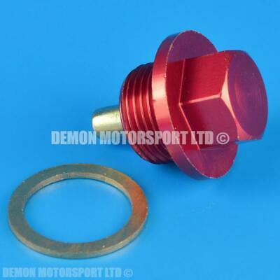 M20 x 1.5 Strong Magnetic Oil Pan Drain Sump Plug Bolt & Washer