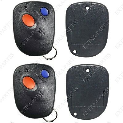 2 New Keyless Entry Remote Key Replacement Car Fob Shell Case for A269ZUA111