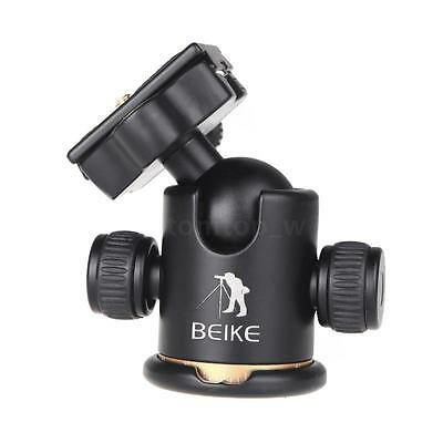 NEW Aluminum BEIKE BK-03 Camera Tripod Ball Head Ballhead Quick Release Plate US