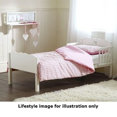 Saplings White Heart Junior Bed (Pine) with Superior Spring Mattress