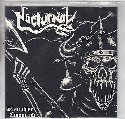 NOCTURNAL - slaughter command EP 7""