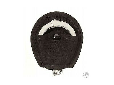 Store Detective Private Investigator Nylon Open Handcuff Holder Case Belt Loop
