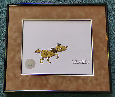 Dr Suess' How The Grinch Stole Christmas Max Original Production Cel Chuck Jones