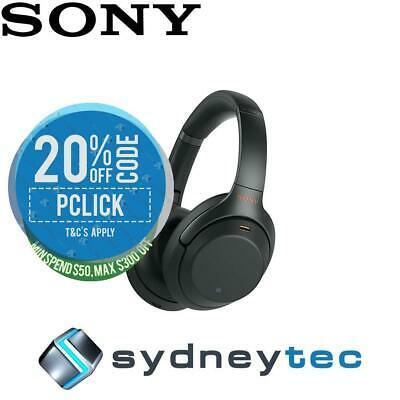 New Sony WH-1000XM3 Wireless Noise Cancelling Headphones - Black