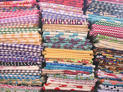 PRE- CUTS, Pick & Choose Limited Quantity, Quilters Fat Quarters Cotton Fabric