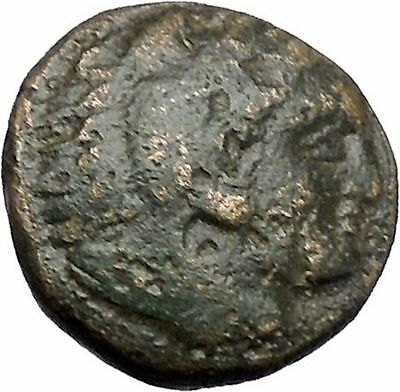 Alexander III the Great as Hercules 336BC Ancient Greek Coin Bow Club i47519