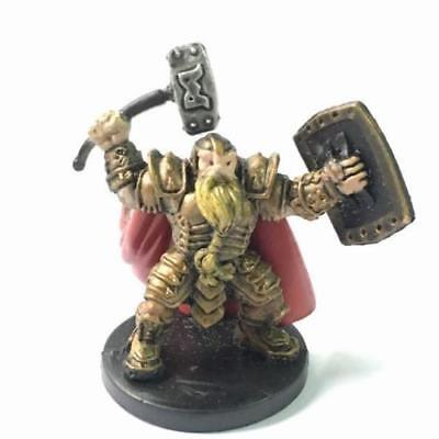D&D Miniatures Dungeons & Dragons 39 Male Dwarf Paladin PHB Heroes #13