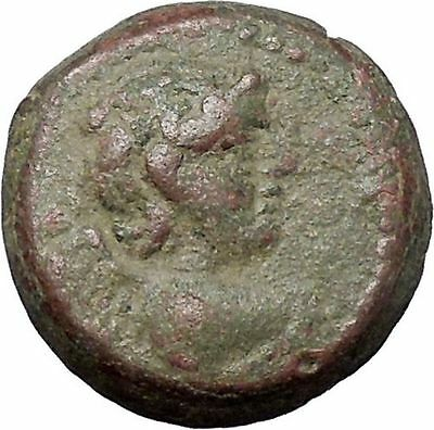 ANTIOCHOS IX 112BC Eros Cupid Love & Nike Authentic Ancient Greek Coin i47593