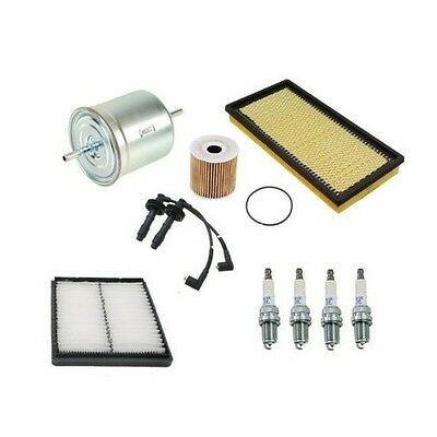 NEW BMW E32 750iL 88-94 Set of 2 Air Filters and 2 Oil Filters Mahle Kit