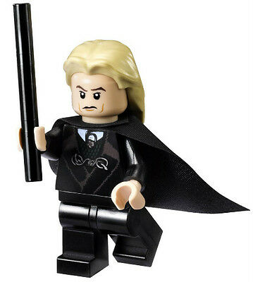 NEW LEGO LUCIUS MALFOY MINIFIG harry potter figure minifigure 4736 draco's dad