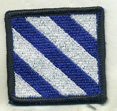 Vietnam Era US Army 3rd Infantry Division Color Patch