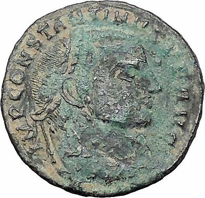 Constantine I The Great 313AD Ancient Roman Coin Jupiter Cult   i47641