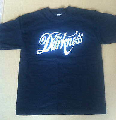 THE DARKNESS 2003 PROMO T shirt NEVER WORN PROMO Permission to land CD USA MINT