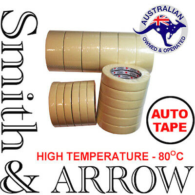 24mm HIGH TEMP TEMPERATURE AUTO CAR TAPE HEAT RESISTANT MASKING PAINTING 3M