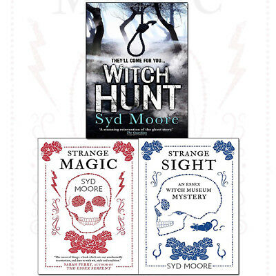 Syd Moore Essex Witches Mystery Series 3 Books Collection Set Witch Hunt NEW UK