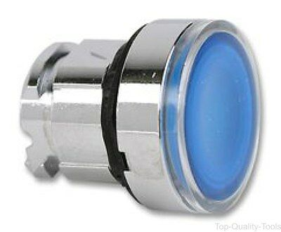 PUSHBUTTON HEAD, 22MM, BLUE, Part # ZB4BW363