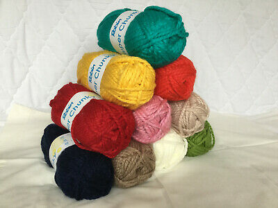 ROBIN SUPER CHUNKY WOOL/YARN 100Gram Ball