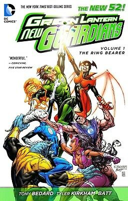 Green Lantern - New Guardians New 52 Vol 1: The Ring Bearer Softcover