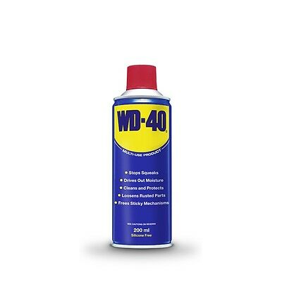 WD40 200ml Spray Aerosol Protects Metals From Rust & Corrosion Lube Cleans