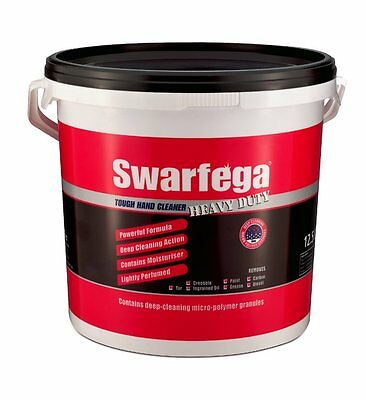 Swarfega Heavy Duty Hand Cleaner 15L Bucket Garage Workshop Equipment Cleaning