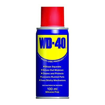WD40 Water Displacement Lube Maintainance 100ML Lubrication Rust Corrosion