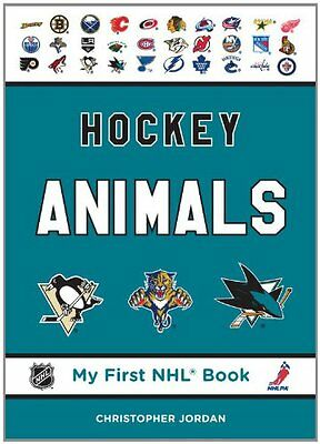 Hockey Animals Christopher Jordan Fenn-Tundra Brdbk My First NHL Book Anglais