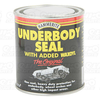 Hammerite Under Body Seal 500ml Rust Treatment Contains Waxoyl Brush On Paint