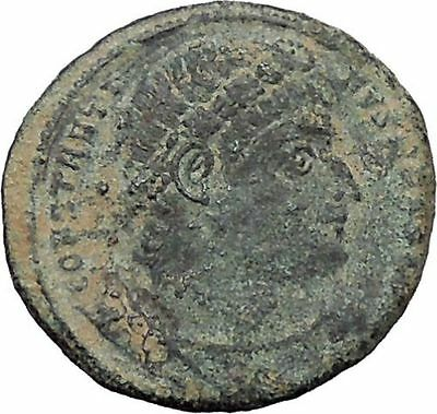 Constantine I The Great 330AD Ancient Roman Coin Legions  Glory of Army i47660