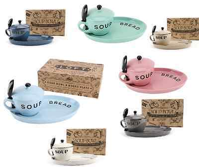 Soup Bowls Sippy Spoons and Bread Plates , Soup Bowls with Lids, Winter warmer