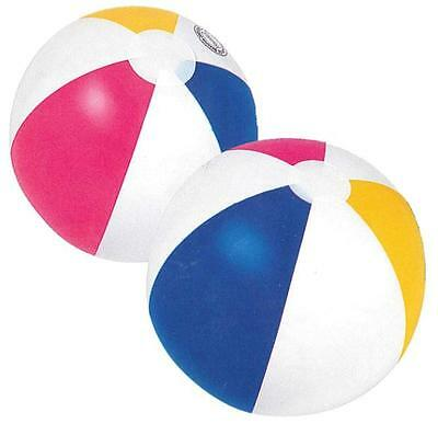 "BEACH POOL BALL HOLIDAY  INFLATABLE  / Large Beach Party Ball 20"" FUN BALL"