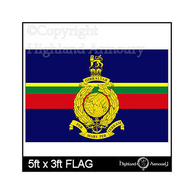 5 x 3 ft FLAG ROYAL MARINES BRITISH NAVY MILITARY NEW