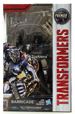 Transformers The Last Knight Deluxe Class Barricade Action Figure IN STOCK USA