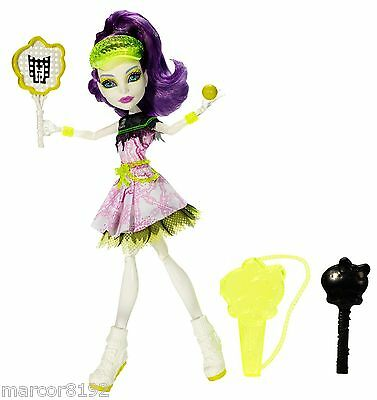 Monster High Doll Ghoul Sports Spectra Vondergeist Daughter of a Ghost New