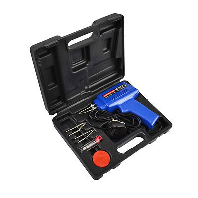 230V Soldering Gun Kit 100W Blue