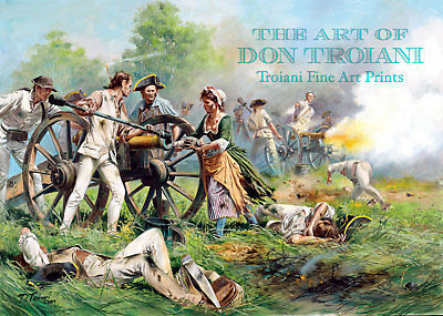 """""""Molly Pitcher, Battle of Monmouth, 1778"""" Don Troiani Revolutionary War A/P"""