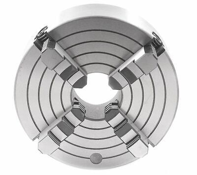 4 Inch 4-Jaw Independent Plain Back Chuck (3900-0414)